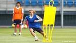 Así fue el primer entrenamiento de Luka Modric en el Real Madrid [FOTOS]