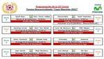 Descentralizado 2012: Programación de la fecha 33 del Torneo