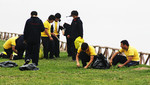 [Lima] Escolares realizan trabajos en áreas verdes del malecón Costanera en San Miguel