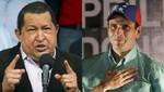 Henrique Capriles 47,7%, Hugo Chávez 45,9%