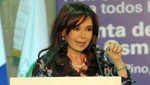 Cristina Fernández anuncia construcción de 'Hollywood' argentino [VIDEO]