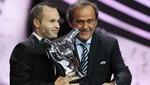 Andres Iniesta fue elegido como el mejor jugador de Europa [FOTOS]