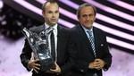 Vea cómo fue la elección de Andrés Iniesta como Mejor Jugador de Europa [VIDEO]