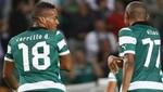 André Carrillo anotó golazo en triunfo del Sporting por 5-0 sobre Horsens en la Euroliga [VIDEO]