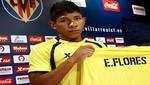 Edison Flores fue presentado como flamante refuerzo del Villarreal de España
