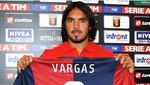 Juan Vargas fue presentado oficialmente como flamante refuerzo del Génova