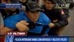 Detienen a revendedores con entradas falsas para encuentro Perú-Venezuela [VIDEO]
