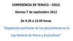 [Chile] Regulación particular de las pisciculturas en la Ley General de Pesca y Acuicultura