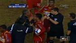 Arbitro no deja ingresar a campo de juego a variante en partido entre Universitario y Sport Huancayo