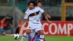 Juan Vargas debutó en el Génova perdiendo ante Catania