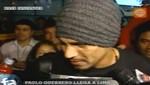 Paolo Guerrero llegó a Lima y espera poder jugar ante Venezuela [VIDEO]