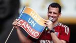 Henrique Capriles espera ganarle a Hugo Chávez en las elecciones presidenciales