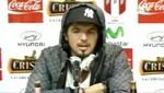 Juan Vargas: No venimos a vacacionar, daremos lo mejor para la selección