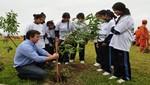 Plantan árboles en nuevo parque ecológico de Magdalena del Mar