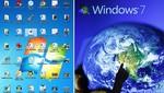 Windows 7 desplazó a Windows XP como el sistema operativo más popular