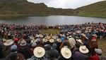 Cajamarca: mil ronderos vigilarán lagunas de Conga para evitar operaciones