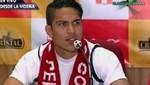 Paolo Guerrero: Estoy en condiciones de jugar ante Venezuela