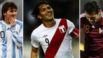 Conoce el fixture para los próximos partidos de las Eliminatorias sudamericanas