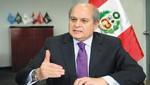 Ministro Pedro Cateriano: Renuncia del procurador Óscar Cubas me preocupa [VIDEO]