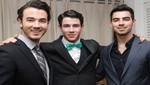 Los Jonas Brothers en almuerzo de negocios [FOTOS]