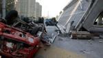 En China un puente se derrumba después de 9 meses de su inauguración