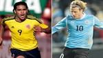Eliminatorias Brasil 2014: Conozca las alineaciones del Colombia vs. Uruguay
