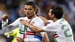 Portugal venció 2-1 a Luxemburgo con goles de Cristiano Ronaldo y Postiga