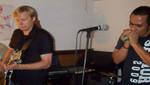 Trío de Blues en concierto al aire libre