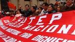Ministra de Educación pide al Sutep levantar la huelga