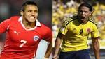 Eliminatorias Brasil 2014: Chile recibe a Colombia en un atractivo encuentro