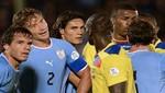 Eliminatorias Brasil 2014: Uruguay igualó 1-1 con Ecuador