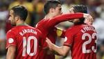 Portugal venció 3-0 a Azerbaiyán en las Eliminatorias europeas