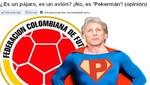En Colombia ponen al DT José Pekerman como si fuese Superman