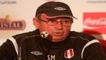 Markarián: Los jugadores que militan en el exterior no estarán presentes ante Bolivia [VIDEO]