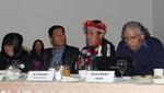 """Alberto Pizango rechazó la falta de voluntad del Estado para abrir espacios de diálogo con los pueblos indígenas"""""""