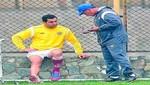 Miguel Ximénez se lesionó y es duda para el choque ante Cobresol