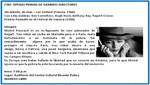 [Miraflores - Lima] Agenda Cultural lunes 17 de septiembre: 'Sin aliento' de Jean - Luc Godard