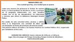 [Miraflores - Lima] Agenda Cultural lunes 17 de septiembre: Una ciudad que lee, una ciudad que se quiere