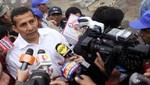 Presidente Humala es aprobado por el 41% de la población