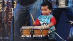 El Gran Show: Hijo de Shantall, de año y medio, sorprende tocando el bongó [VIDEO]
