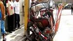 Joven de 16 años pierde la vida al chocar su mototaxi ante una custer [VIDEO]