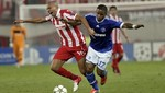 Champions League: Schalke 04 con Farfán venció de visita 2-1 al Olympiakos
