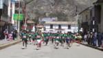 [Huancavelica] Cientos de jóvenes participaron de la maratón y concurso de pintura