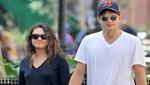 Ashton Kutcher y Mila Kunis a los besos en Nueva York [FOTOS]