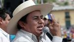 Gregorio Santos marchó junto a la CGTP hacia el Ministerio de Trabajo [VIDEO]