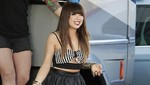 Carly Rae Jepsen grabó el video de su nuevo single This Kiss [FOTOS]
