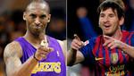 Kobe Bryant reta a Lionel Messi a intercambiar equipos durante una semana