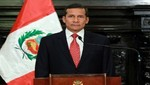 Ollanta Humala: Varios integrantes de mi primer gabinete se quedaban solo en palabras