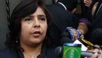 Ministra de la Mujer exige que le den cadena perpetúa a la ex pareja de Ruth Thalía