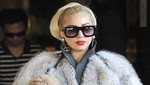 Lady Gaga oculta su figura en un gigante traje [FOTO]